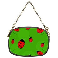 Ladybugs Chain Purses (two Sides)  by Valentinaart