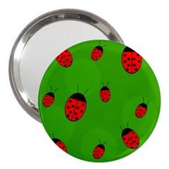 Ladybugs 3  Handbag Mirrors by Valentinaart