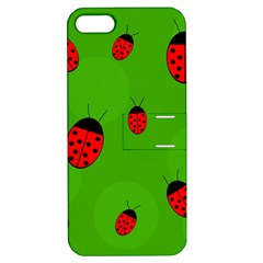 Ladybugs Apple Iphone 5 Hardshell Case With Stand by Valentinaart
