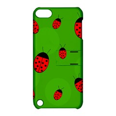 Ladybugs Apple Ipod Touch 5 Hardshell Case With Stand by Valentinaart