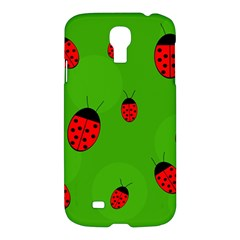 Ladybugs Samsung Galaxy S4 I9500/i9505 Hardshell Case by Valentinaart