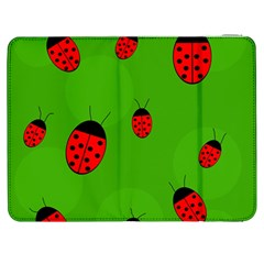 Ladybugs Samsung Galaxy Tab 7  P1000 Flip Case by Valentinaart