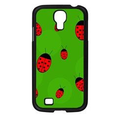 Ladybugs Samsung Galaxy S4 I9500/ I9505 Case (black) by Valentinaart