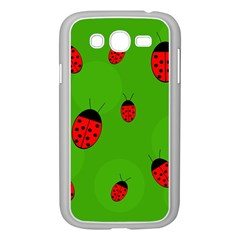 Ladybugs Samsung Galaxy Grand Duos I9082 Case (white) by Valentinaart