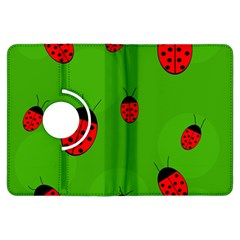 Ladybugs Kindle Fire Hdx Flip 360 Case by Valentinaart