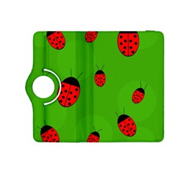 Ladybugs Kindle Fire Hdx 8 9  Flip 360 Case by Valentinaart