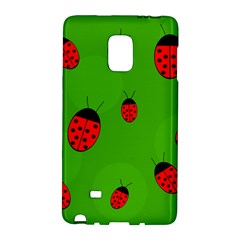 Ladybugs Galaxy Note Edge by Valentinaart