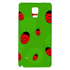 Ladybugs Galaxy Note 4 Back Case by Valentinaart