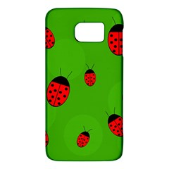 Ladybugs Galaxy S6 by Valentinaart