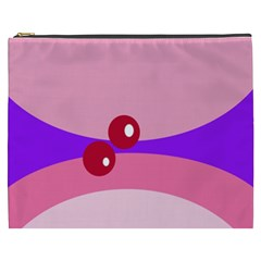 Decorative Abstraction Cosmetic Bag (xxxl)  by Valentinaart