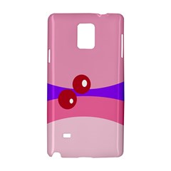 Decorative Abstraction Samsung Galaxy Note 4 Hardshell Case by Valentinaart