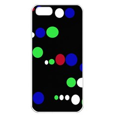Colorful Dots Apple Iphone 5 Seamless Case (white) by Valentinaart