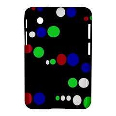 Colorful Dots Samsung Galaxy Tab 2 (7 ) P3100 Hardshell Case  by Valentinaart