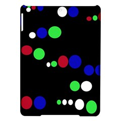 Colorful Dots Ipad Air Hardshell Cases by Valentinaart