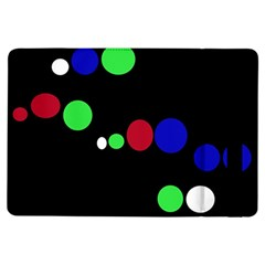 Colorful Dots Ipad Air Flip by Valentinaart