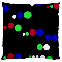 Colorful Dots Standard Flano Cushion Case (one Side)