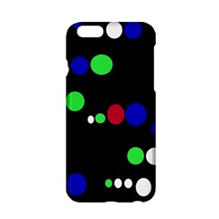 Colorful Dots Apple Iphone 6/6s Hardshell Case by Valentinaart