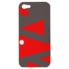 Decorative Abstraction Apple Iphone 5 Hardshell Case by Valentinaart