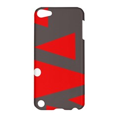 Decorative Abstraction Apple Ipod Touch 5 Hardshell Case by Valentinaart