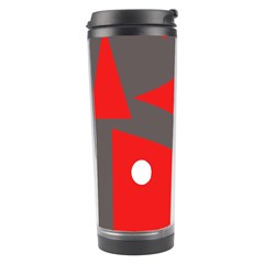Decorative Abstraction Travel Tumbler by Valentinaart