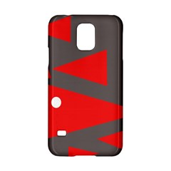 Decorative Abstraction Samsung Galaxy S5 Hardshell Case  by Valentinaart