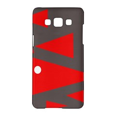 Decorative Abstraction Samsung Galaxy A5 Hardshell Case  by Valentinaart