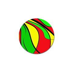 Colors Of Jamaica Golf Ball Marker (10 Pack) by Valentinaart