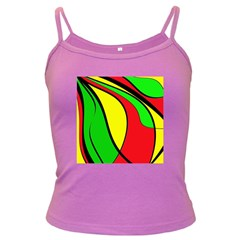 Colors Of Jamaica Dark Spaghetti Tank by Valentinaart