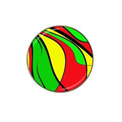Colors Of Jamaica Hat Clip Ball Marker by Valentinaart
