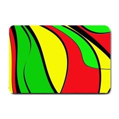 Colors Of Jamaica Small Doormat  by Valentinaart