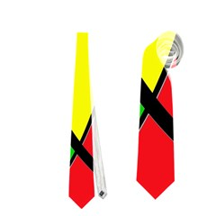 Colors Of Jamaica Neckties (Two Side)  by Valentinaart