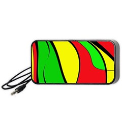 Colors Of Jamaica Portable Speaker (Black)  by Valentinaart
