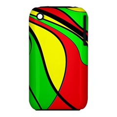 Colors Of Jamaica Apple Iphone 3g/3gs Hardshell Case (pc+silicone) by Valentinaart