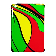 Colors Of Jamaica Apple Ipad Mini Hardshell Case (compatible With Smart Cover) by Valentinaart
