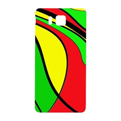 Colors Of Jamaica Samsung Galaxy Alpha Hardshell Back Case by Valentinaart