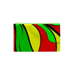 Colors Of Jamaica Cosmetic Bag (xs) by Valentinaart