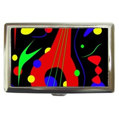 Abstract Guitar  Cigarette Money Cases