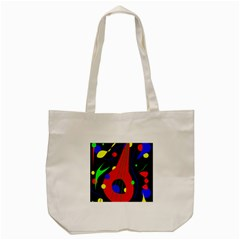 Abstract Guitar  Tote Bag (cream) by Valentinaart
