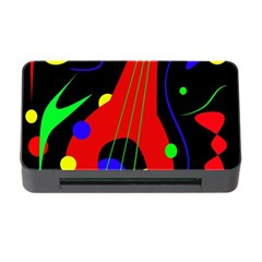 Abstract Guitar  Memory Card Reader With Cf by Valentinaart