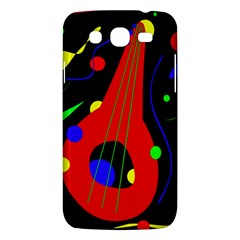 Abstract Guitar  Samsung Galaxy Mega 5 8 I9152 Hardshell Case  by Valentinaart