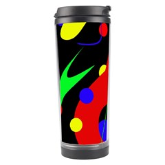 Abstract Guitar  Travel Tumbler by Valentinaart