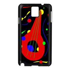 Abstract Guitar  Samsung Galaxy Note 3 N9005 Case (black) by Valentinaart