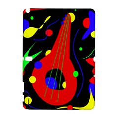 Abstract Guitar  Samsung Galaxy Note 10 1 (p600) Hardshell Case by Valentinaart