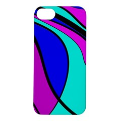 Purple And Blue Apple Iphone 5s/ Se Hardshell Case by Valentinaart