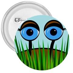 Snail 3  Buttons by Valentinaart