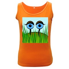 Snail Women s Dark Tank Top by Valentinaart