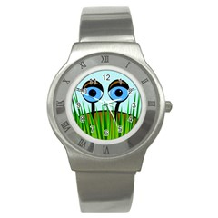 Snail Stainless Steel Watch by Valentinaart