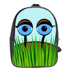 Snail School Bags(large)  by Valentinaart