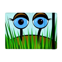 Snail Apple Ipad Mini Flip Case by Valentinaart