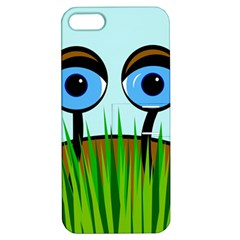 Snail Apple Iphone 5 Hardshell Case With Stand by Valentinaart